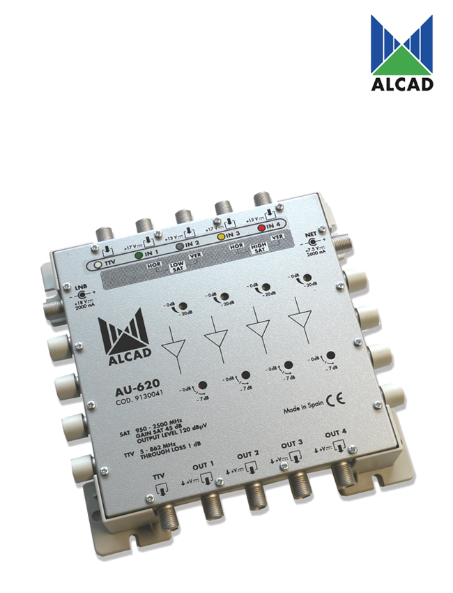 Alcad AU-620 Amplifier